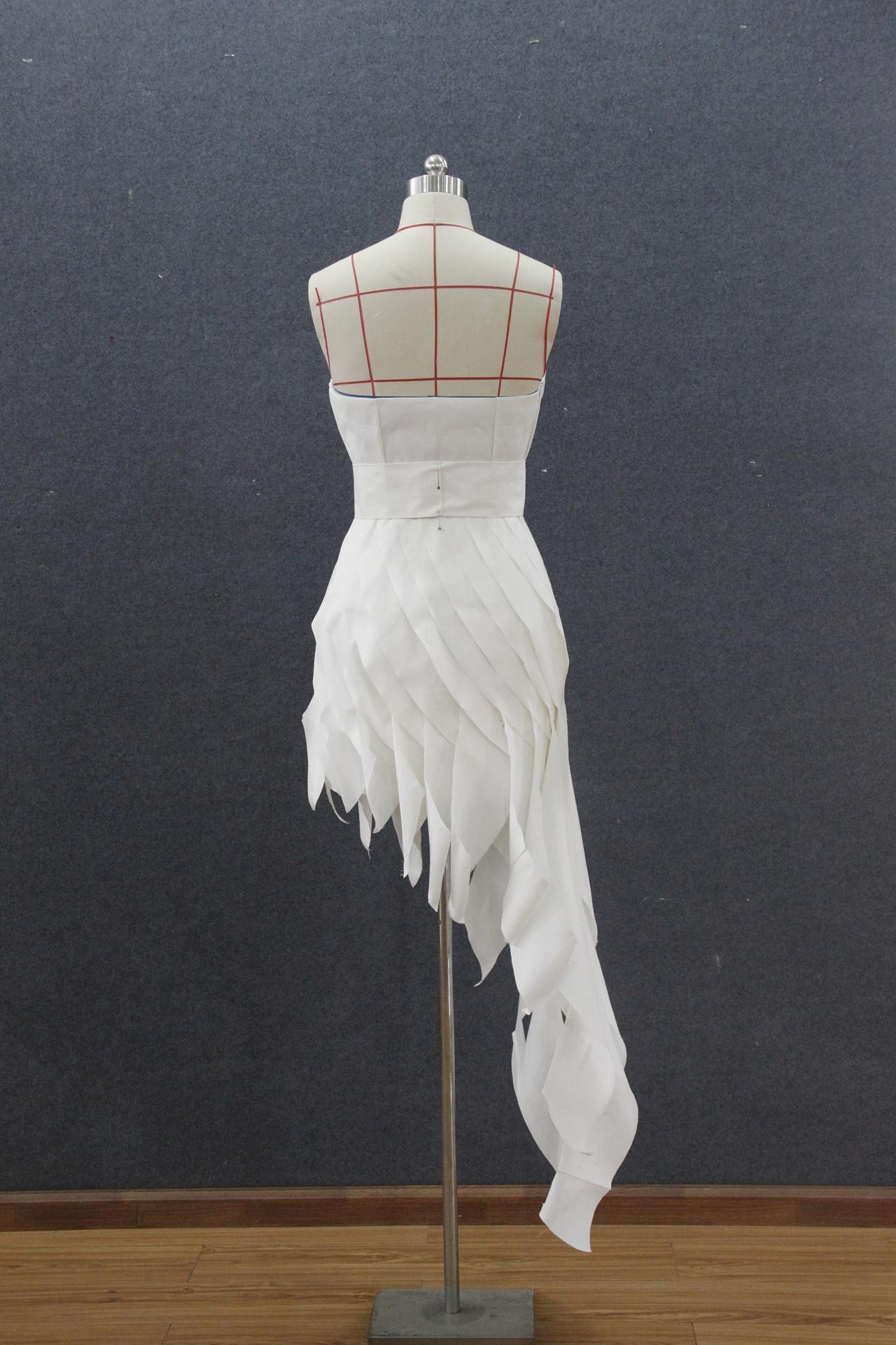 服装立体裁剪 服装 正装/礼服 唐海元1 - 原创作品图片