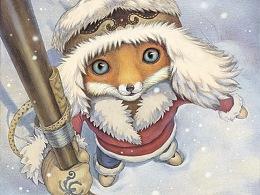 绘本创作——中国民间童话之《小狐狸》