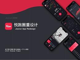 悦跑圈App Redesign