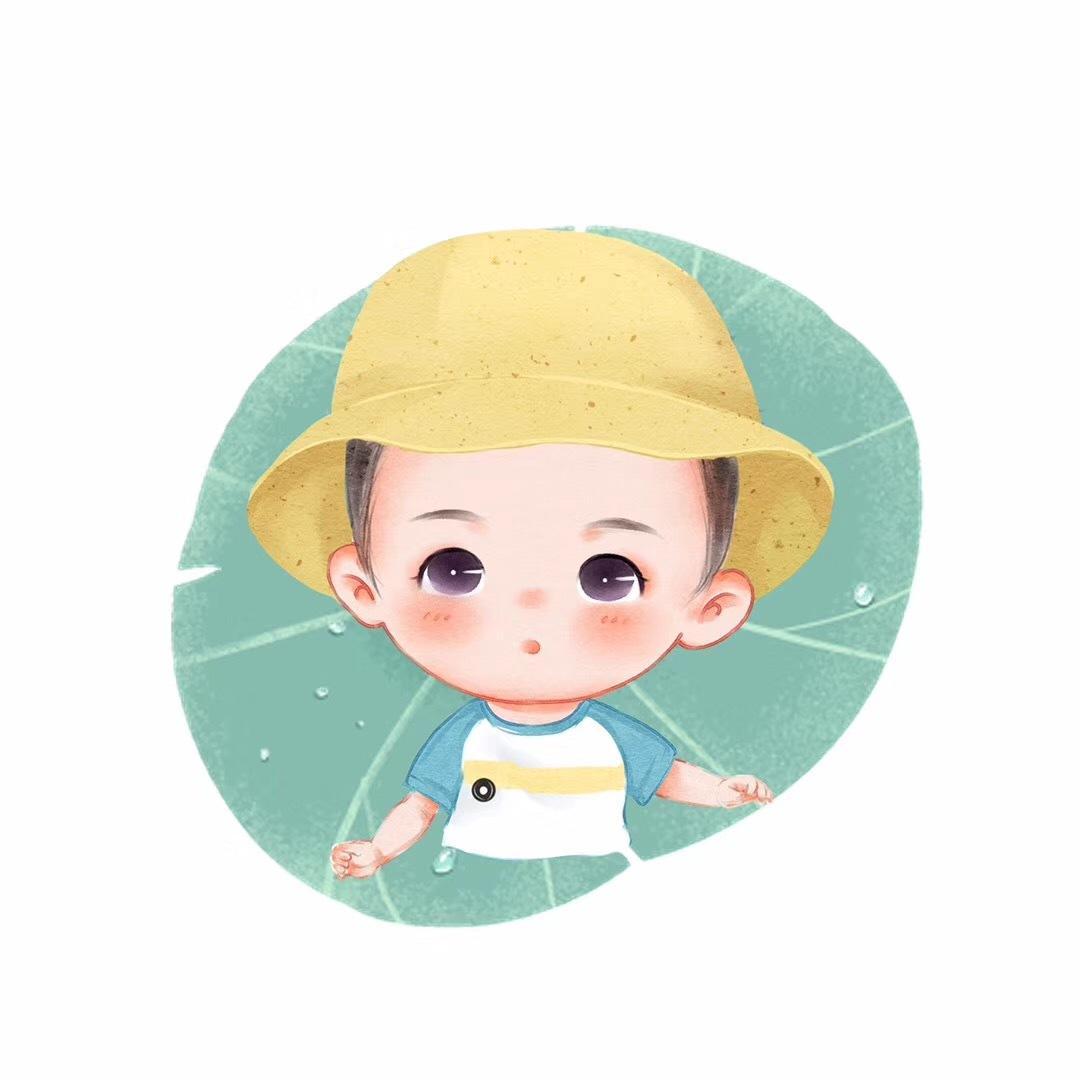 萌娃风 雷电 孩子漫画 熊动漫手绘馆YJ-原创作宙域肖像漫画图片