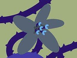 复古花朵图案设计