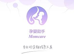 孕婴app logo设计