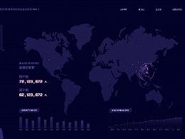 数据可视化大屏展示-概念稿
