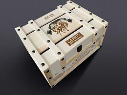 高端木盒包装