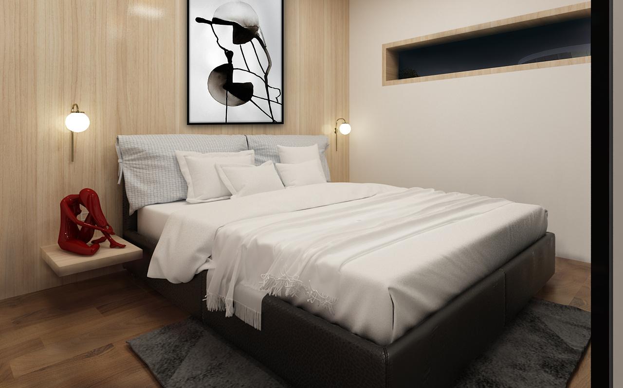 背景墙 房间 家居 酒店 设计 卧室 卧室装修 现代 装修 1280_798图片