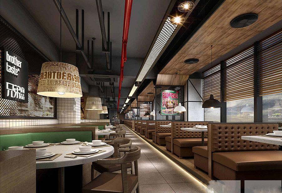 内江专业设计内江餐厅餐厅设计》【卓巧装饰】怎么绘制横纵坐标图图片