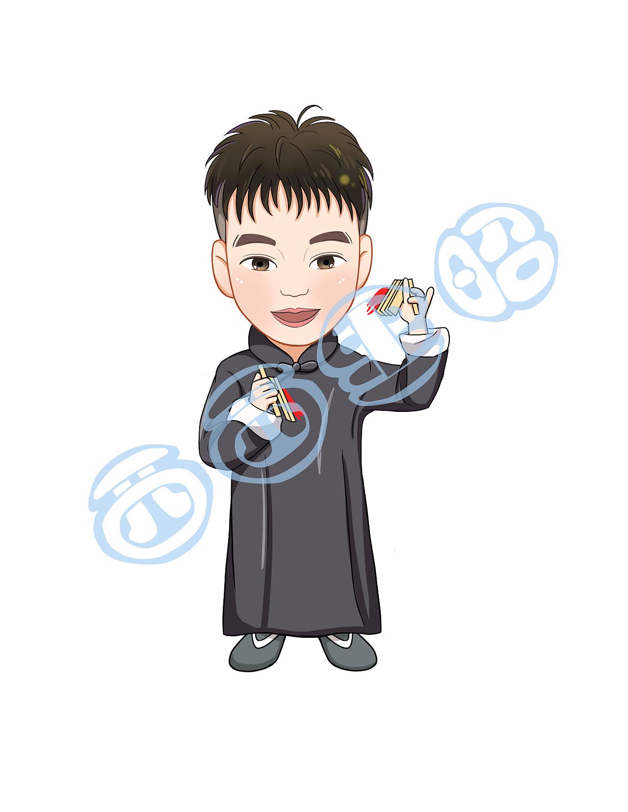 德云社 卡通形象形象设计图片