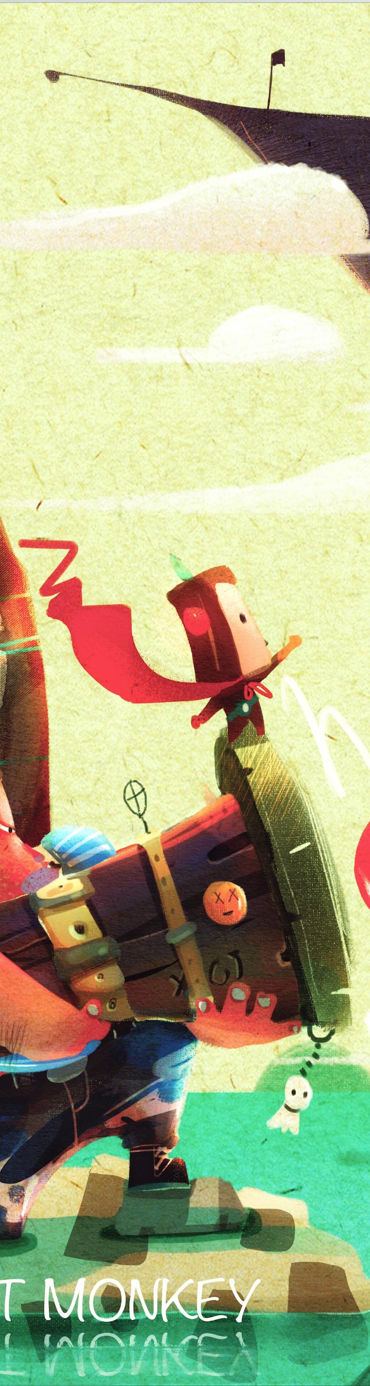 查看《接受我的爱心攻击-吐司猴》原图,原图尺寸:730x2734
