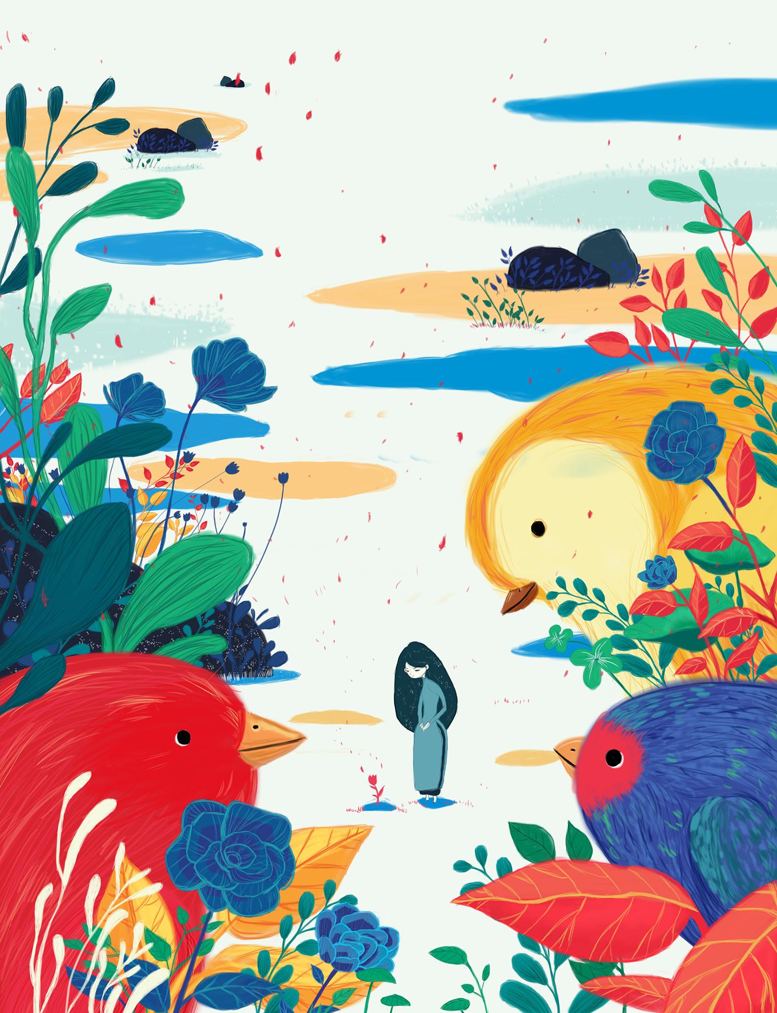 手绘作品 插画 商业插画 可乐0 - 原创作品 - 站酷
