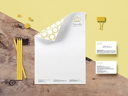 古典文艺风格Arreda室内软装设计设计公司品牌形象设计