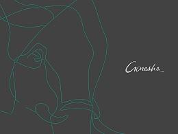 GANESHA皮肤管理中心品牌设计
