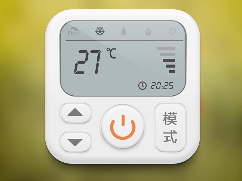 空调遥控器,icon|图标|ui|小欧不姓欧
