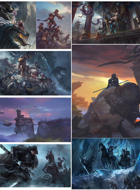 查看《游戏原画系列公开课-锦浩老师的原画作品「CGFUN漫画学院」》原图,原图尺寸:1200x1632