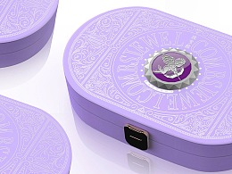 珠宝梳礼盒设计