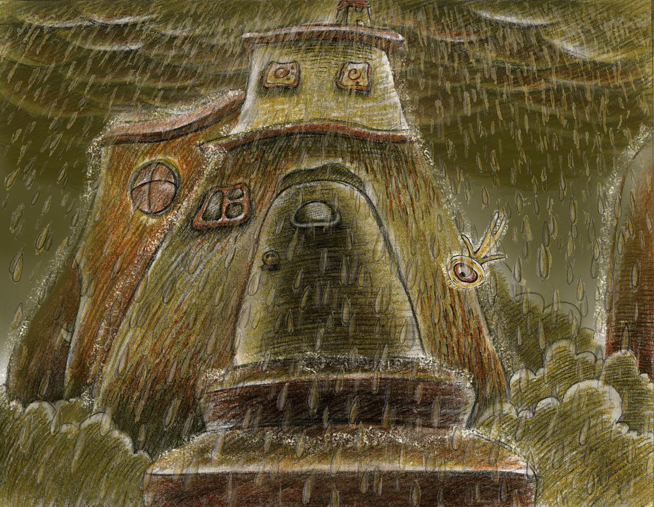 彩铅手绘动画《钥匙》