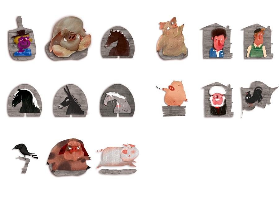 查看《百词斩阅读计划-《动物庄园》封面以及插图》原图,原图尺寸:3114x2231