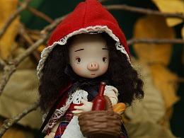 小紅豬 可動玩偶形象設計