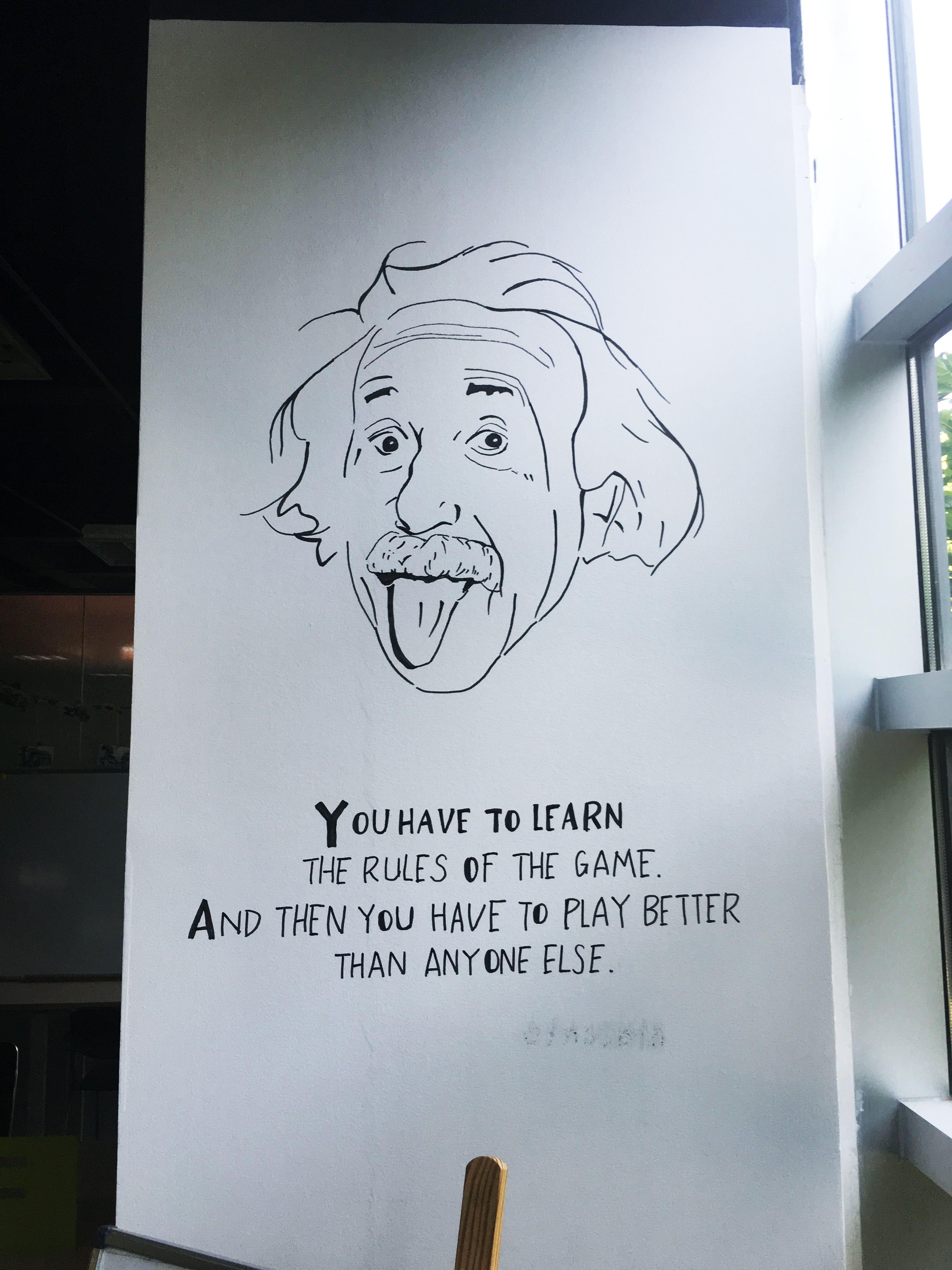 企业创意墙绘