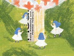 诗歌插画——树啊树
