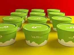 智成笔品牌设计-斯斯雪&隐厨-雪糕产品包装设计
