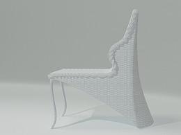 西式户外婚礼观椅--造型椅