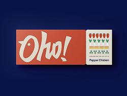Oho!哦吼!品牌LOGO方案B