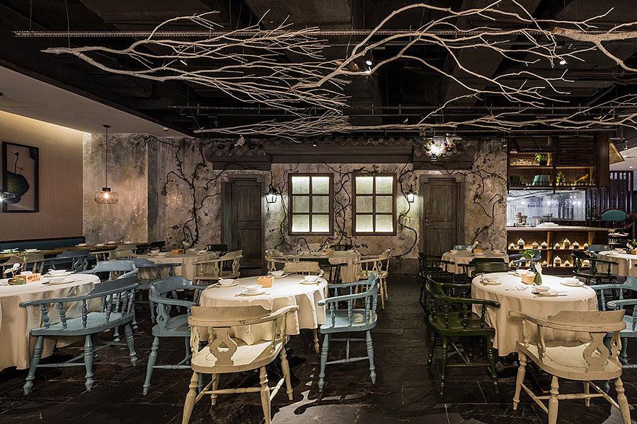 正餐餐饮空间设计 · 西湖印象福州店