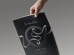 西装定制画册设计