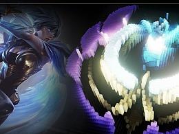 《英雄联盟》特殊头像像素元素化