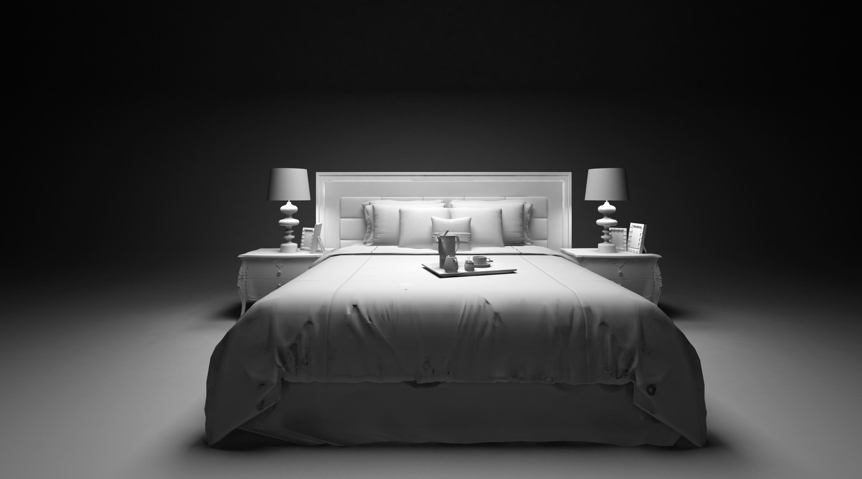 床简笔画画法