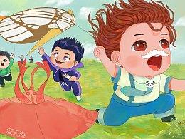 春天到了,想念风筝