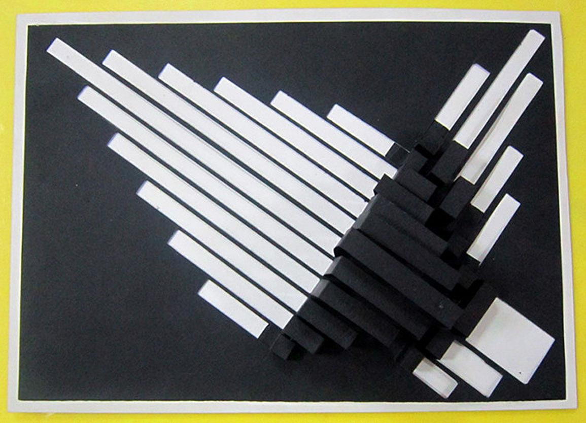 立体构成的小作品图片