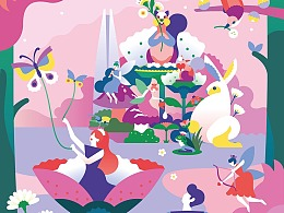 韩国乐天购物中心 x AG旗下艺术家Shinyoung
