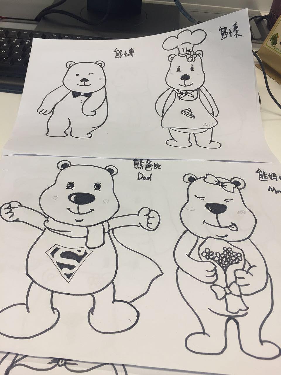妈妈超人妈妈手绘