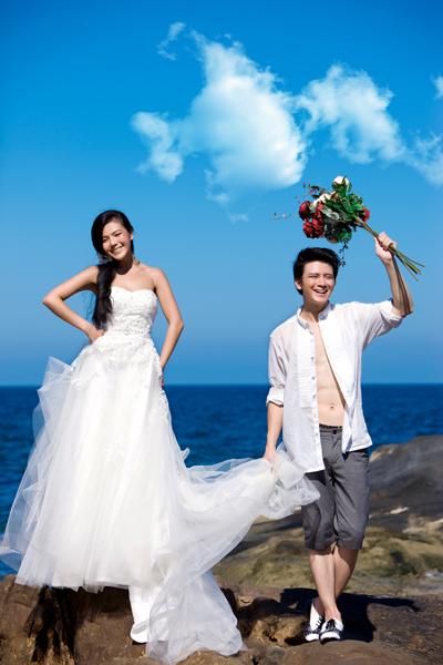烟台爱情海婚纱摄影_海 烟台真爱婚纱摄影相册 Wed114结婚网