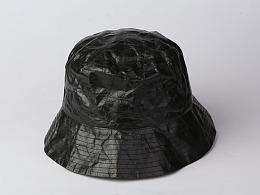 纸竹常乐防水撕不烂帽子(黑色款)