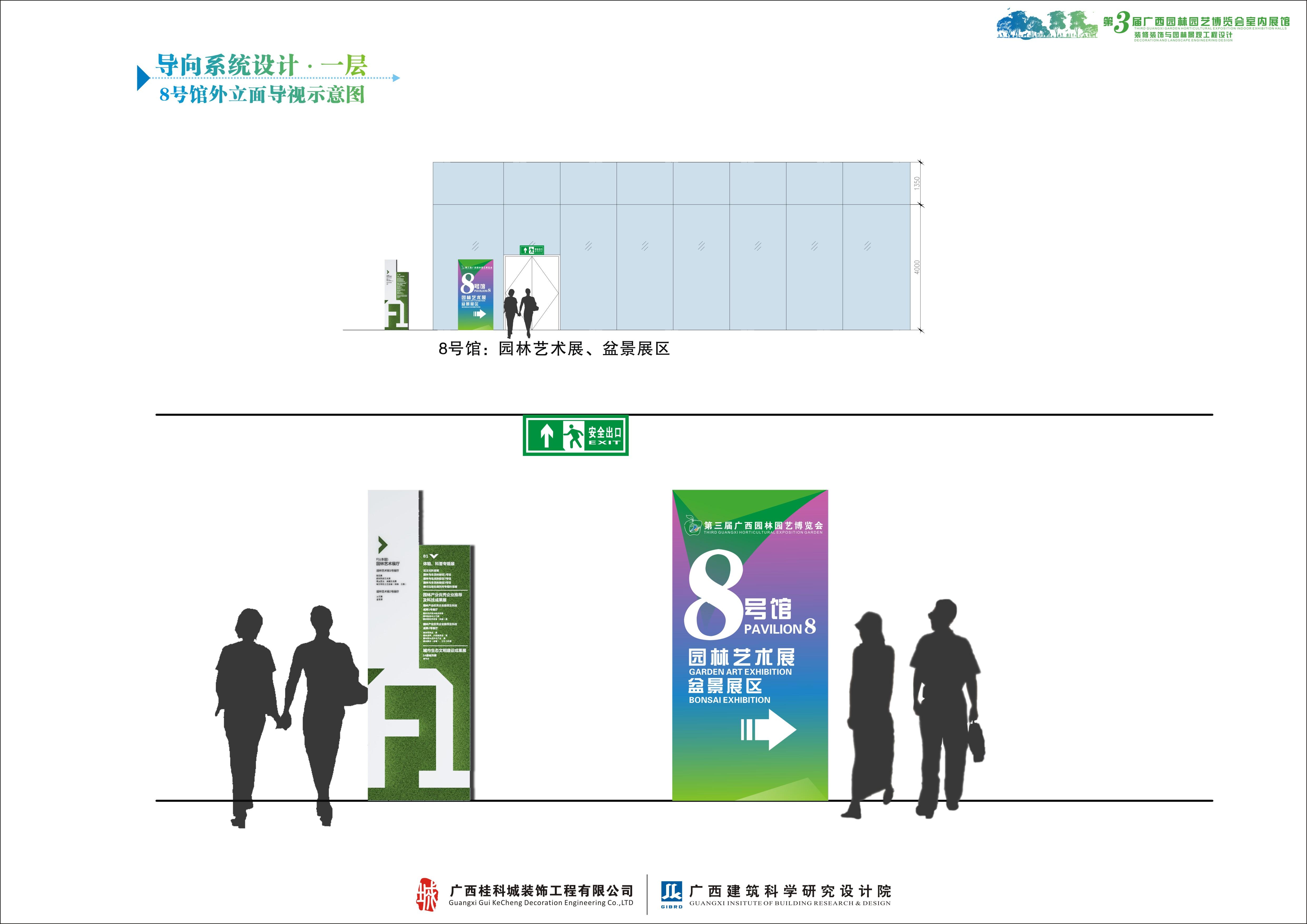 第3届广西园博会主展馆·导视系统设计图片