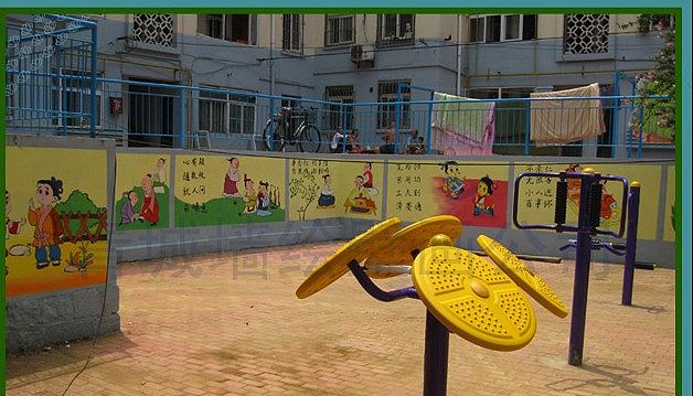青岛墙绘--青岛幼儿园彩绘--弟子规