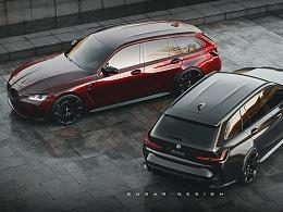 宝马M3 G81旅行车新车预览