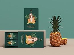 北京《O!Snack》胶原果脆品牌设计。