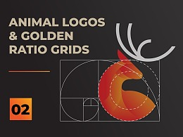 Animal Logo and Golden Ratio Grids - Part 02