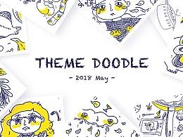 深夜涂鸦—Theme doodle