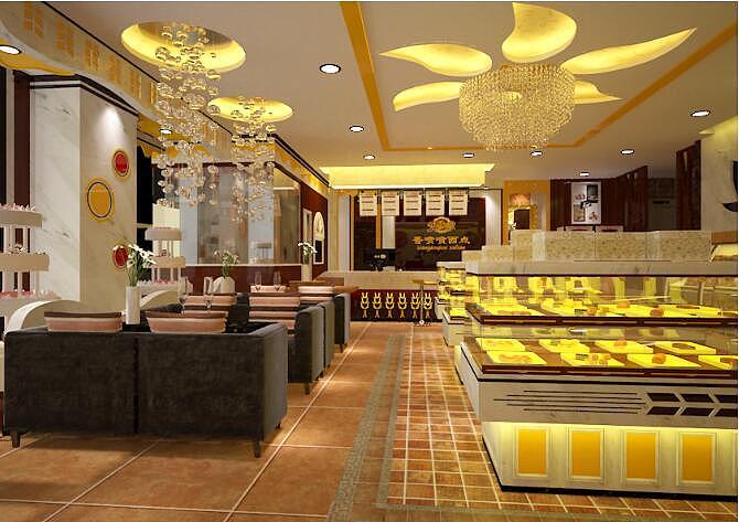 蛋糕店装修设计也可以diy出你最渴望的模样