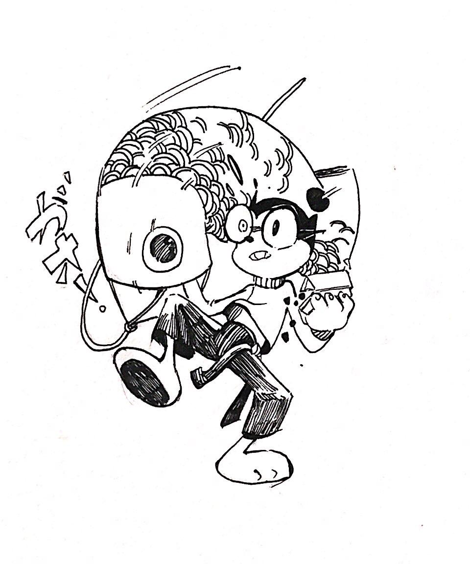 姜饼小子手绘图
