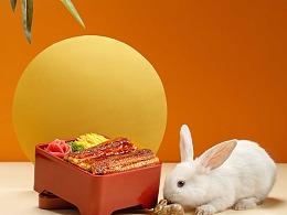 一家兔子和月亮为主题的日料店 / 食术FOODLIFE