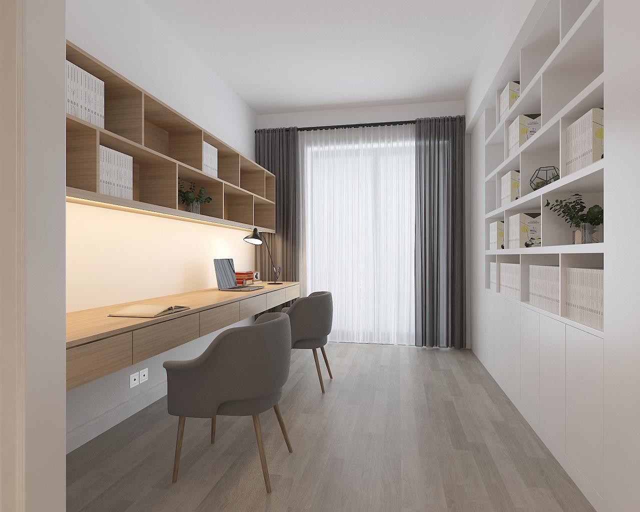 精致生活空间_现代高级灰 / 住宅空间设计|空间|室内设计|六品设计 - 原创作品 ...