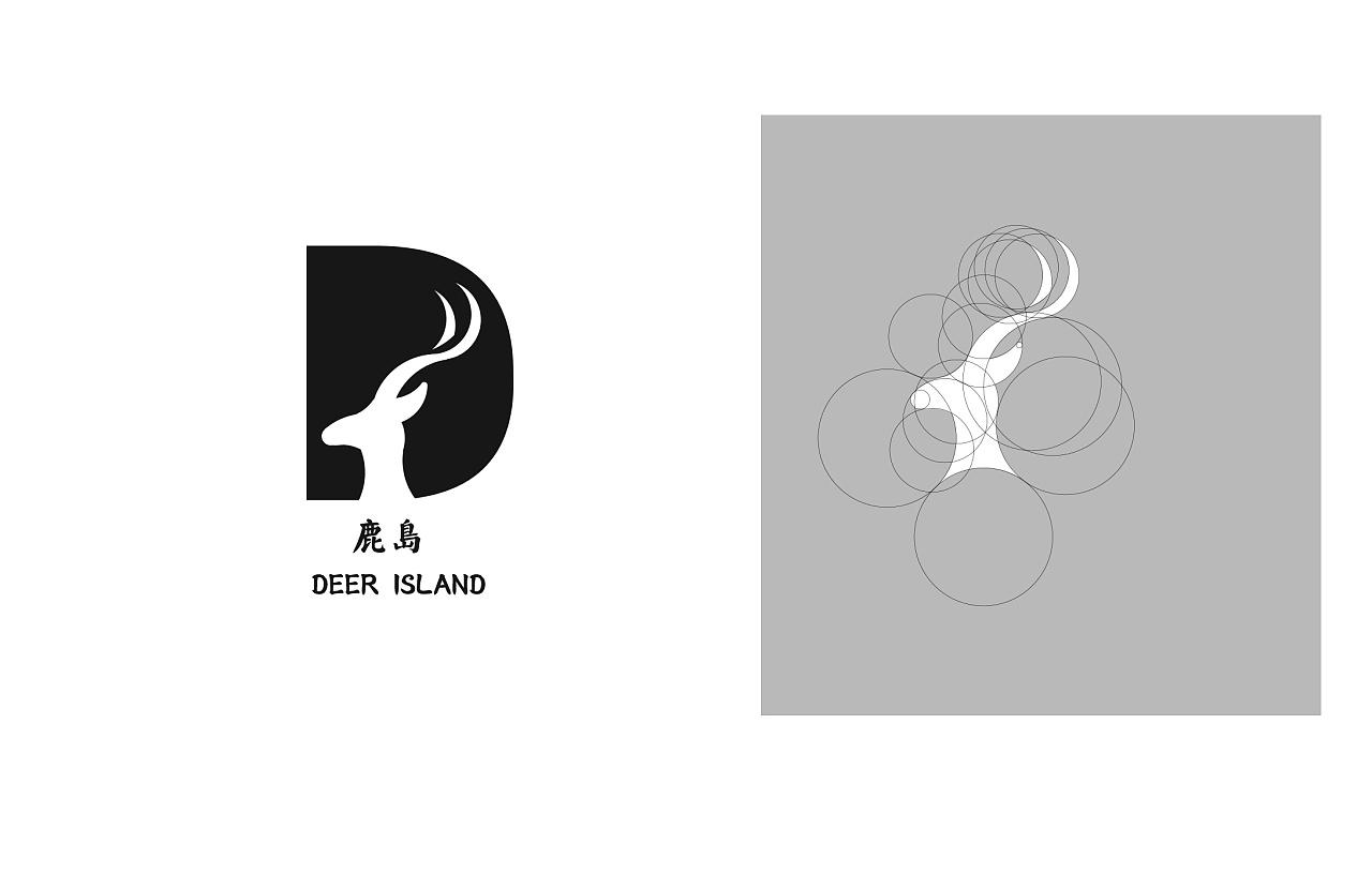 鹿岛logo设计