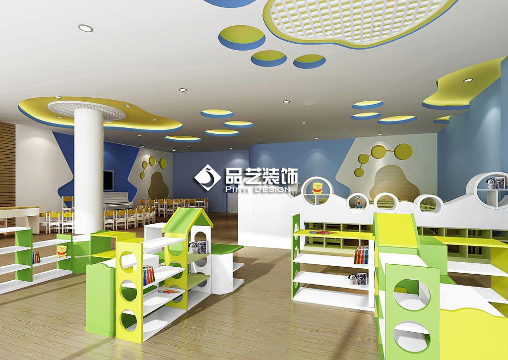 儿童英文培训机构及午托中心装修设计