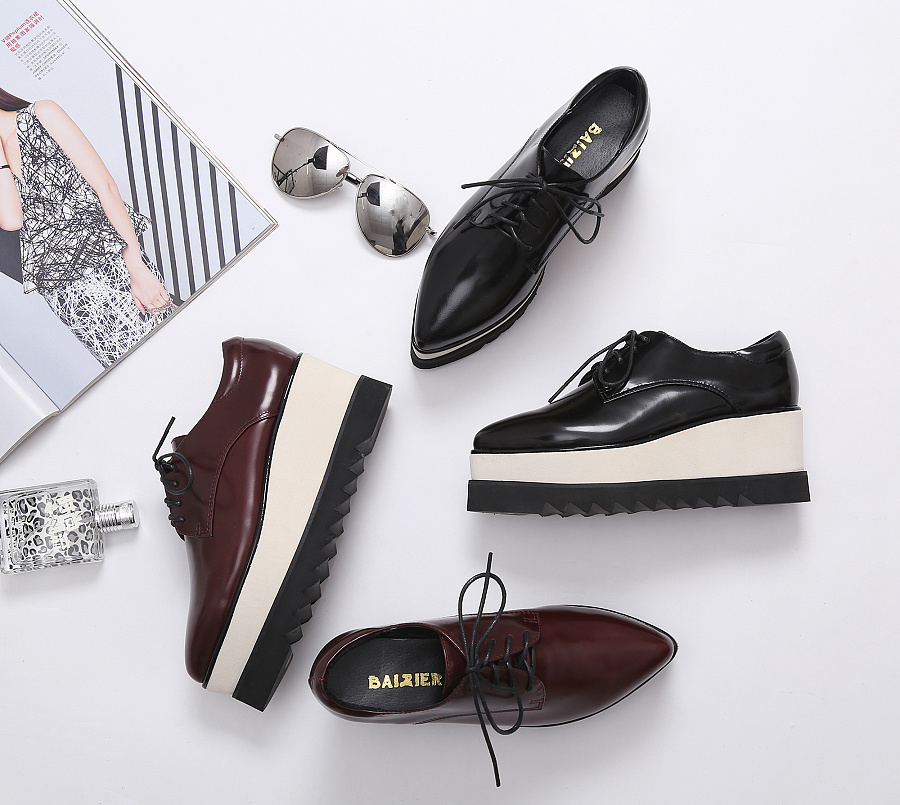鞋子创意图