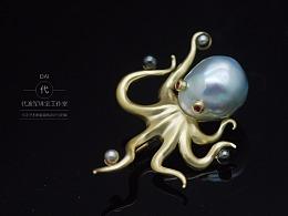 巴洛克珍珠——设计师为什么设计只有六只脚的八爪鱼?